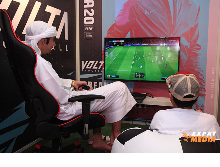 At Insomnia Dubai in Meydan Grandstand on October 17, 2019. JONATHAN YBERA/EXPAT MEDIA