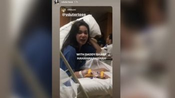 Duterte's daughter recovering from dengue