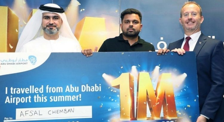 Man wins Dh1 million in Abu Dhabi without buying a ticket
