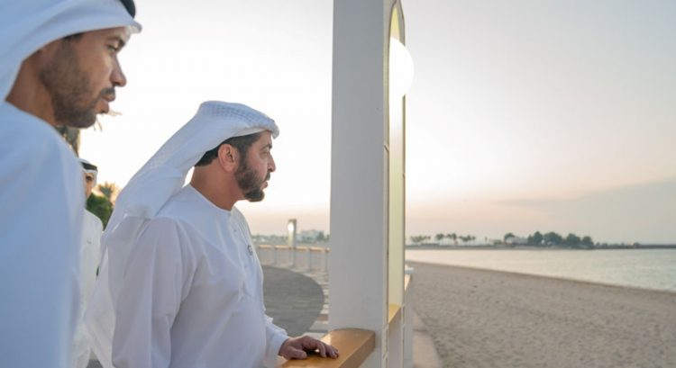 New public beach opens in UAE