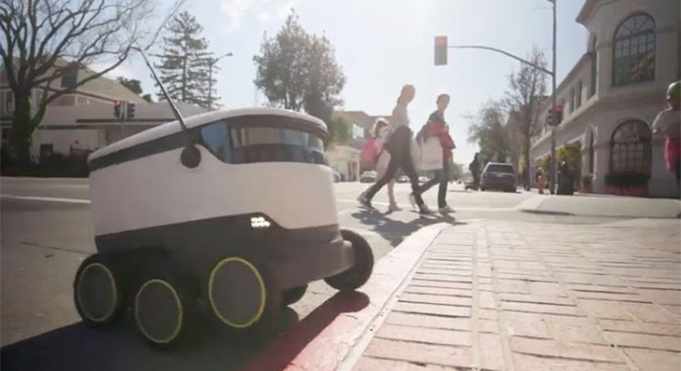 Dubai to roll out supermarket delivery robots