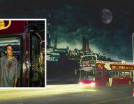 Zombies take over Big Bus Dubai, QE2