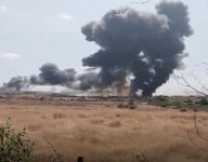 India fighter jet crashes after bird strike