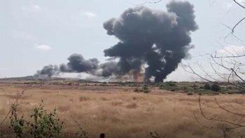 India fighter jet crashes after bird strike