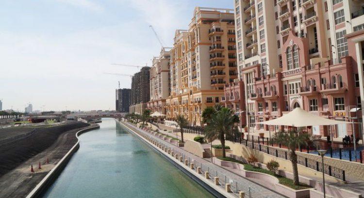 Car crashes into Dubai residential canal