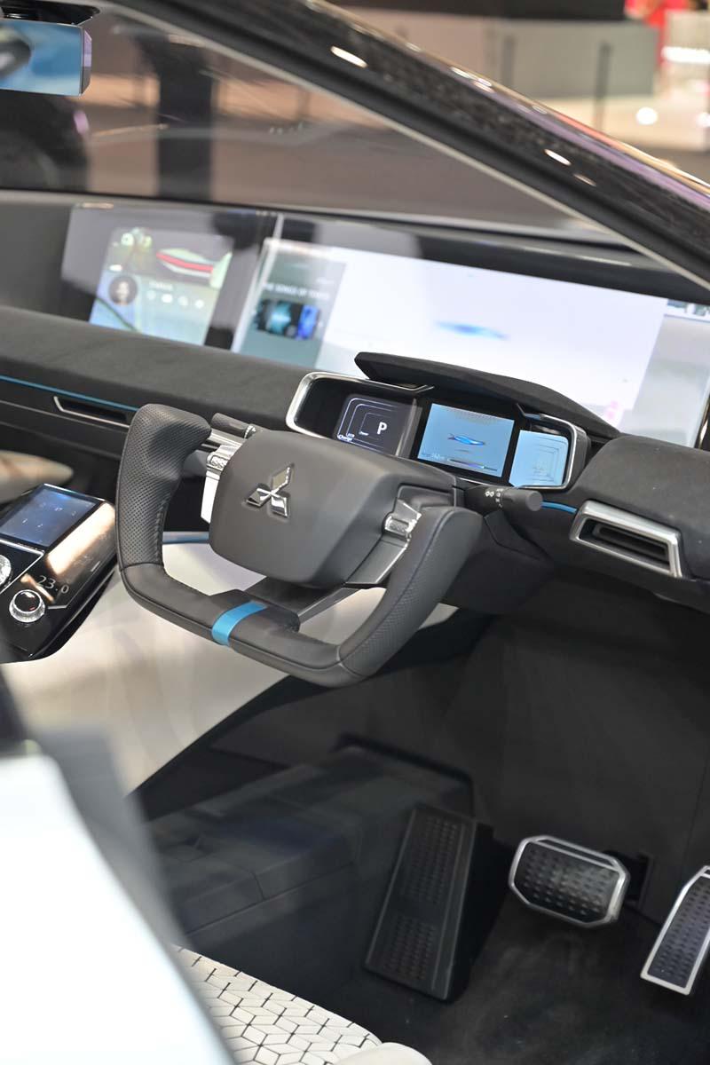 Mitsubishi e-Evolution electric car