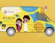 Get free Expo 2020 ice cream from this van
