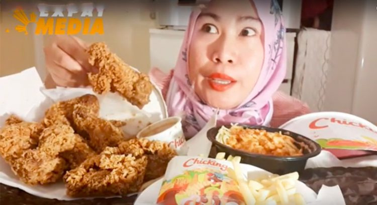 Meet the Filipino Muslim mukbang YouTuber from Dubai
