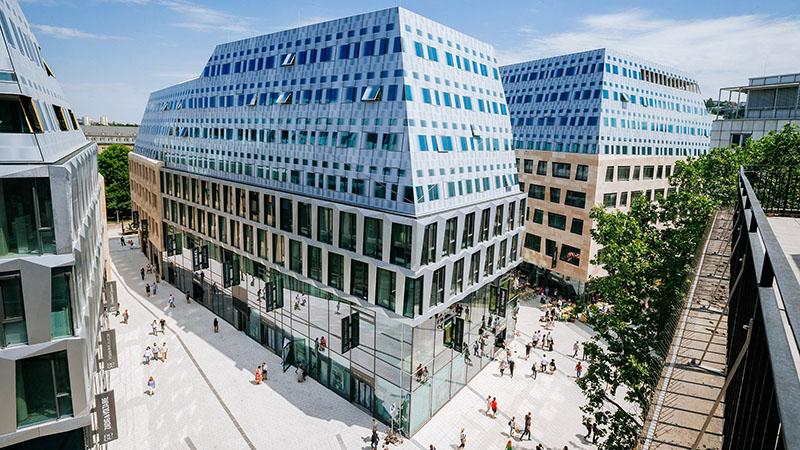 Opening des Dorotheen Quartiers in Stuttgart, Germany