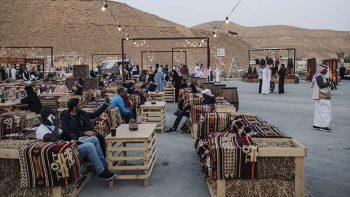Art, music and food at Saudi horse festival