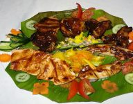 Food review: Golden Fork's Filipino barbecue platter