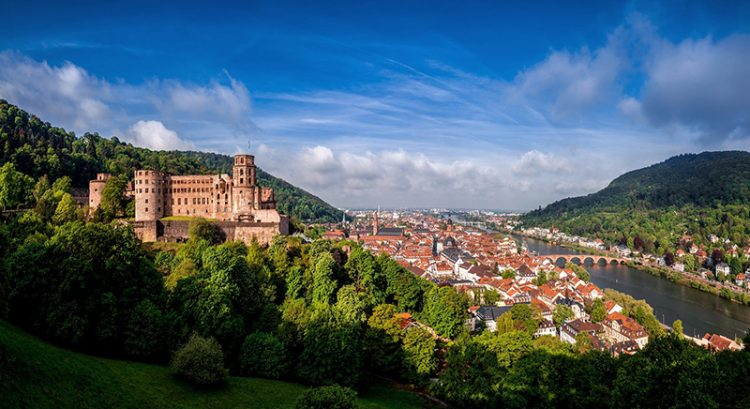Travel to Germany's Heidelberg and Breuninger this winter