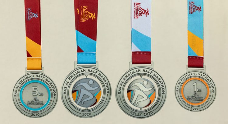 Medal for world's 'fastest half marathon' in Ras Al Khaimah revealed
