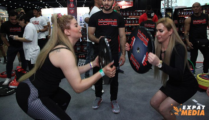 Dubai Muscle Show, all the action