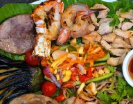 Golden Fork Sharjah offers Filipino mixed platter