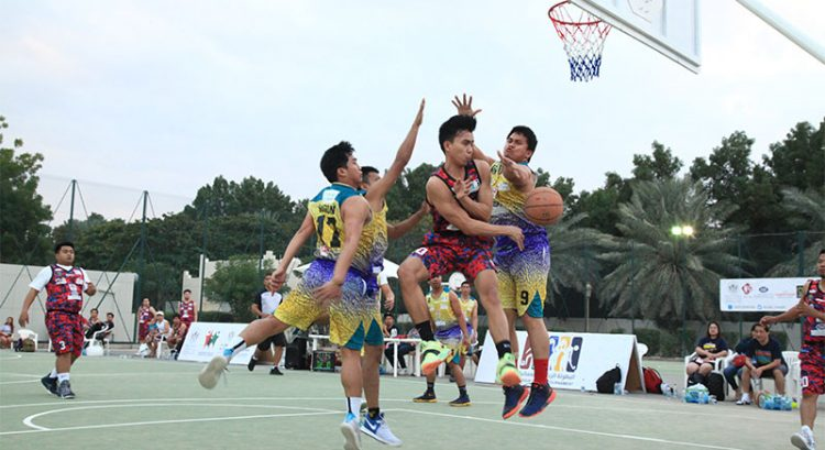 Sharjah sports fest draws Filipino basketball players