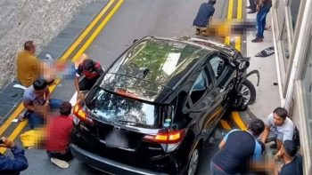 Singapore Lucky Plaza car crash: 2 Filipinos fighting for life, 2 dead
