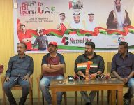 Watch: Mohanlal, Ravindhar prepare for UAE Golden Jubilee