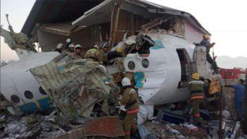 Plane crashes into Kazakhstan house, 12 killed