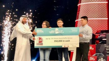 Filipina account manager wins jackpot in Dubai