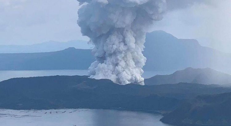 Philippine Taal Volcano eruption: 3 volunteers die in car crash