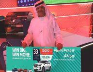Girl wins new car at Dubai raffle, thanks to doting grandpa