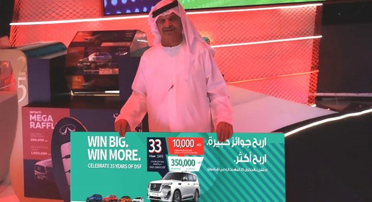 Girl wins new car at Dubai raffle, thanks to doting grandpa