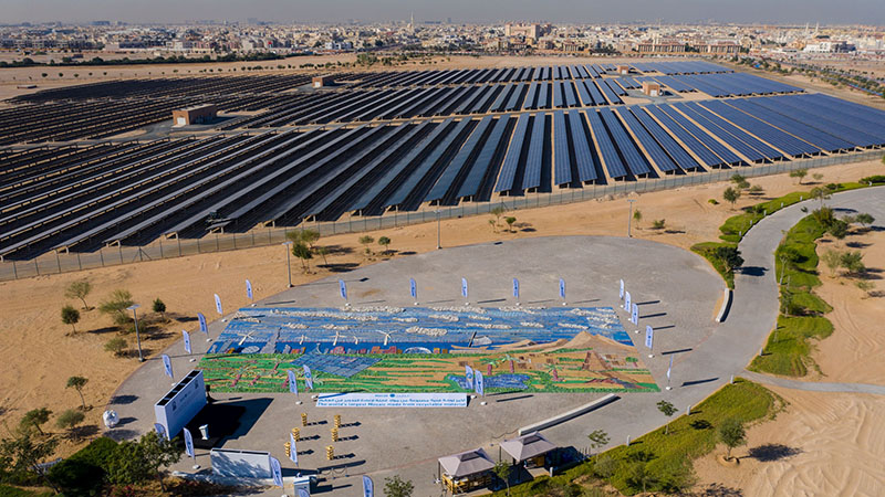 Abu Dhabi builds world's largest mosaic of recycled materials