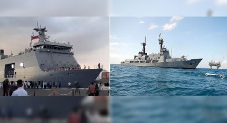 Philippine Navy ships headed to Middle East to bring home OFWs