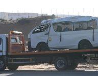 Ras Al Khaimah minibus crash kills 1, injures 10
