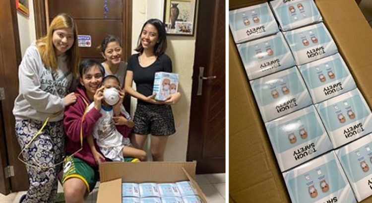 Filipinos in Dubai rush home 400 face masks for Taal Volcano victims