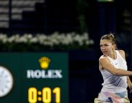 Simona Halep survives thriller at Dubai Duty Free Tennis Championships
