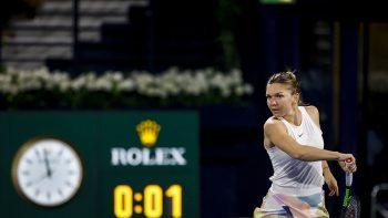 Simona Halep survives thriller at Dubai Duty Free Tennis Championships