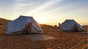 Dine and sleep in Dubai's desert dunes at Sonara Camp
