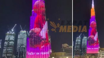 Burj Khalifa shows Kobe Bryant tribute