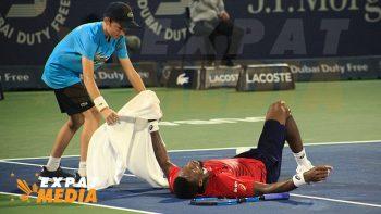 Gael Monfils bows to Novak Djokovic in Dubai tennis semis