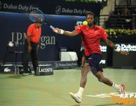 Action from Dubai Duty Free Tennis Championships 2020