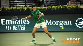 Novak Djokovic beats Malek Jaziri in bid for Dubai tennis crown