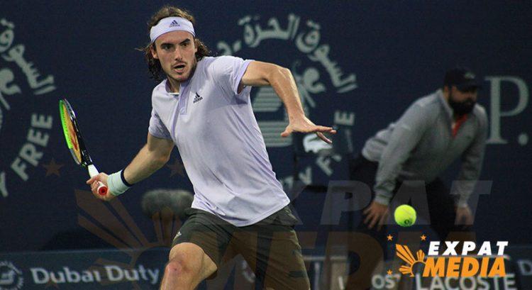 Stefanos Tsitsipas beats Daniel Evans in Dubai tennis
