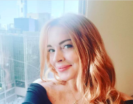 Lindsay Lohan stays at home in Dubai