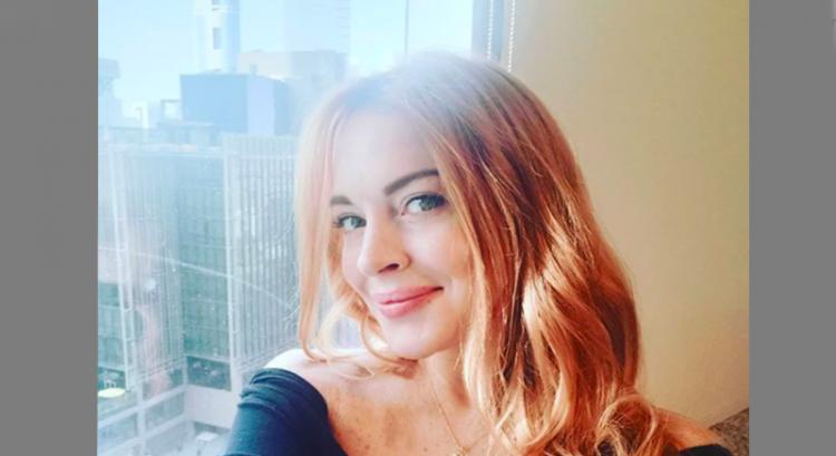 Lindsay Lohan stays at home in Dubai