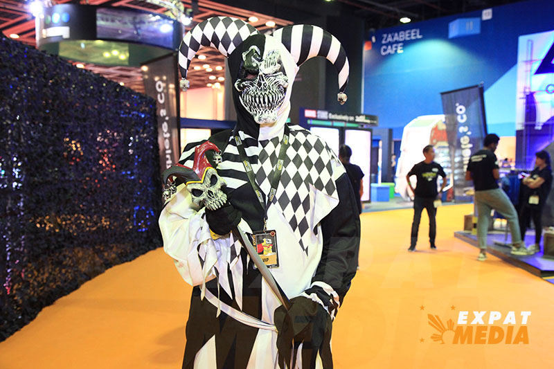 At the Middle East Film and Comic Con 2020 in Dubai. JONATHAN YBERA/EXPAT MEDIA