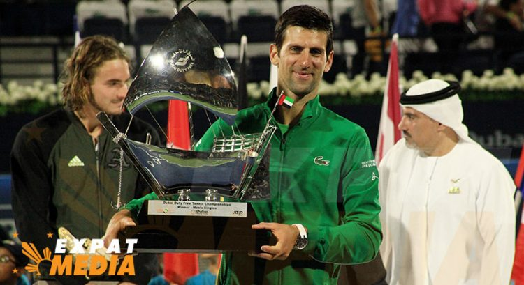 Djokovic beats Tsitsipas to win 2020 Dubai tennis open