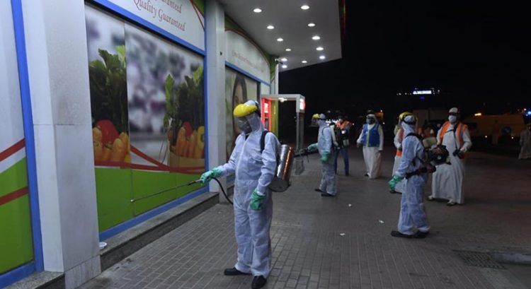 UAE disinfection programme extended until April 5