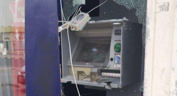 Ajman ATM theft attempt: 2 men arrested