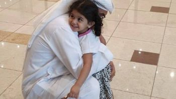 Emirati girl stranded in Saudi Arabia for 50 days reunites with parents