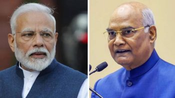 India's Modi, Kovind and officials take salary cut