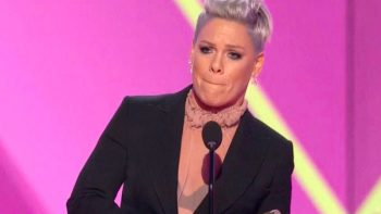 Pink's important Covid-19 message