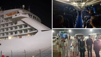 415 Filipinos stranded in UAE return home