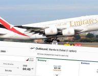 Emirates to fly Filipinos from Manila to Dubai on May 30